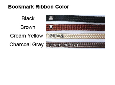 Bookmark ribbon color